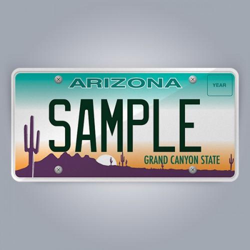 Arizona License Plate Replica