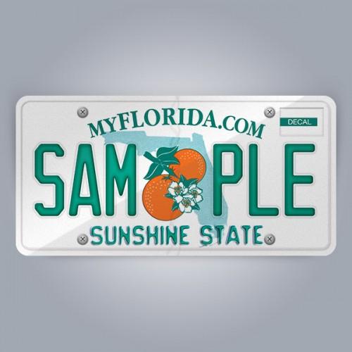 Florida License Plate Replica