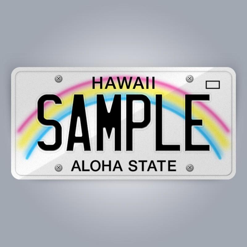 Hawaii License Plate Replica