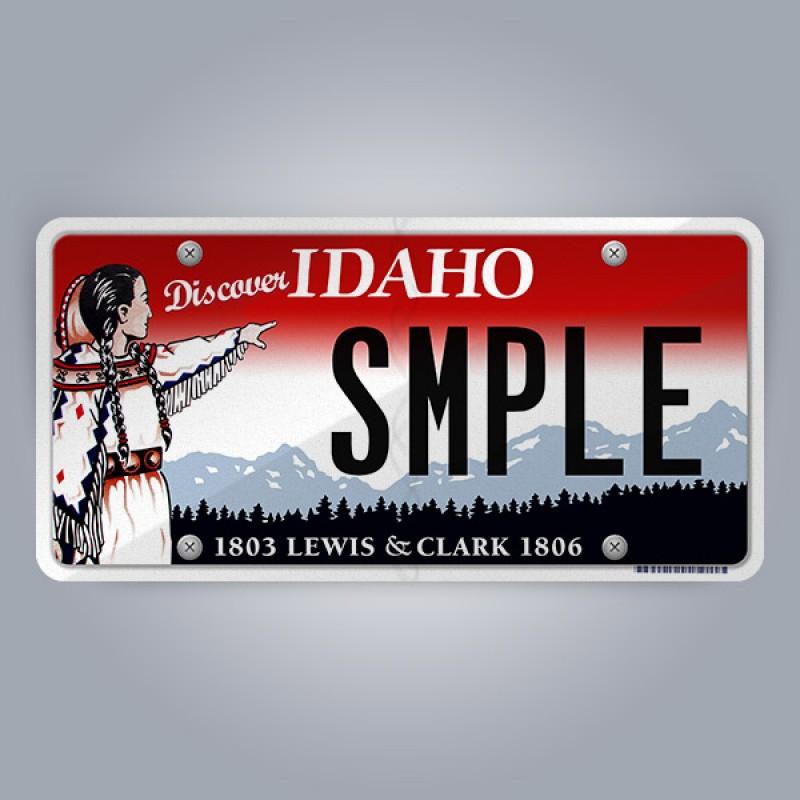 Idaho License Plate Replica