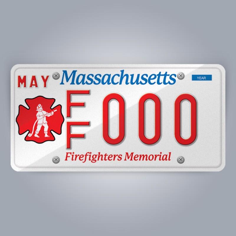 Massachusetts License Plate Replica