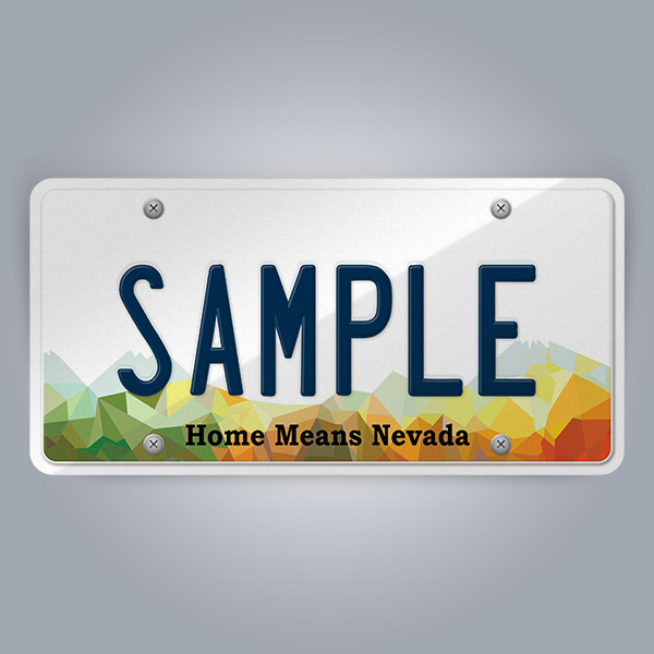 Nevada License Plate Replica