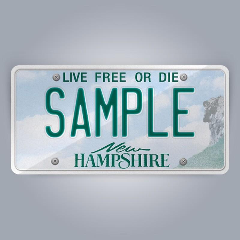 New Hampshire License Plate Replica