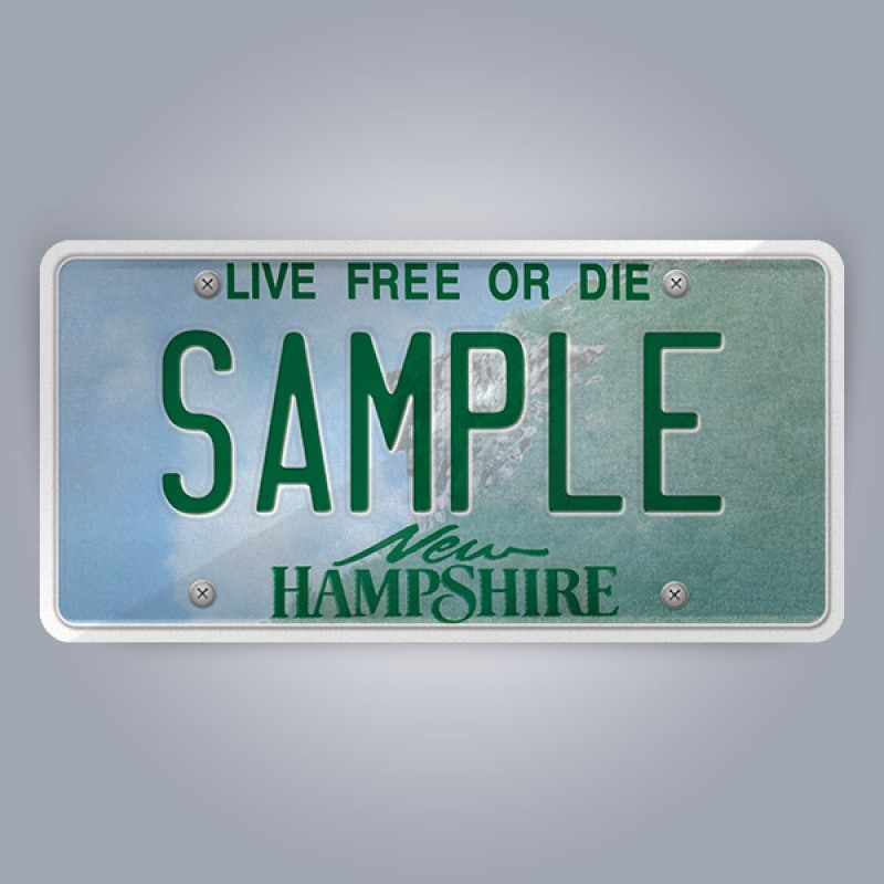 New Hampshire License Plate Replica