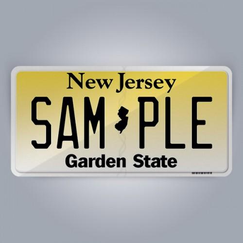New Jersey License Plate Replica