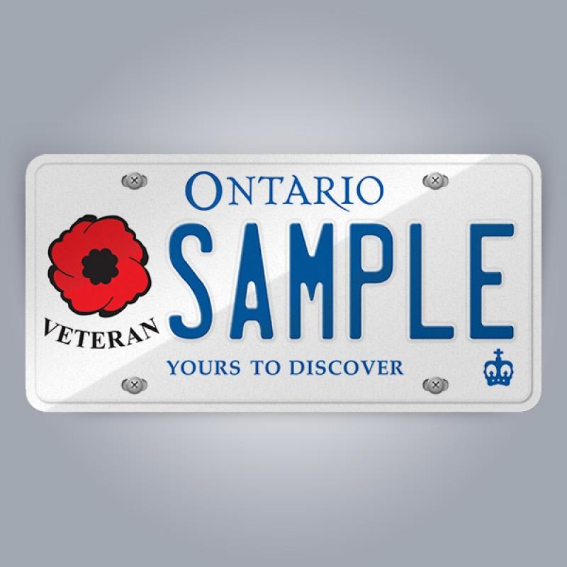 Ontario Licence Plate Replica