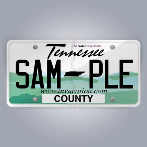 Tennessee License Plate Replica