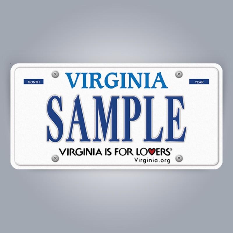 Virginia License Plate Replica